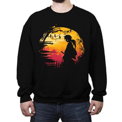 Samurai Journey - Crew Neck Sweatshirt - Crew Neck Sweatshirt - RIPT Apparel