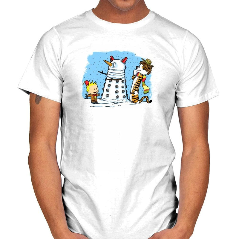 The Snow Dalek Exclusive - Mens - T-Shirts - RIPT Apparel