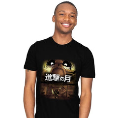 Attack on Moon  - Mens - T-Shirts - RIPT Apparel