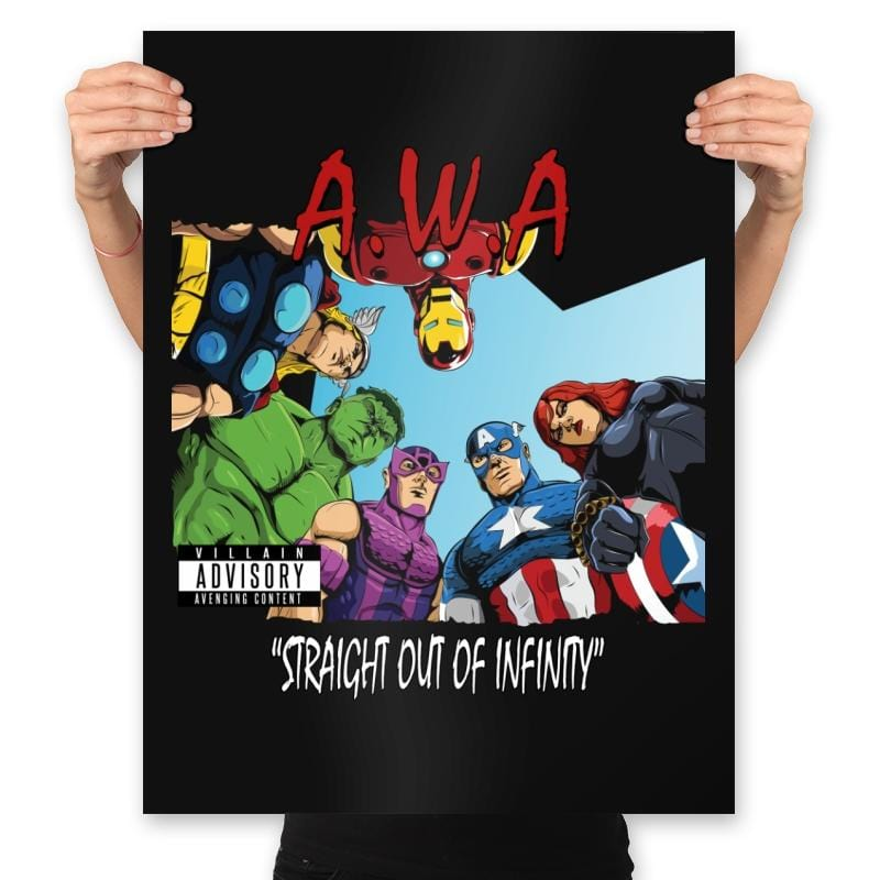 Straight Out of Infinity  - Anytime - Prints - Posters - RIPT Apparel