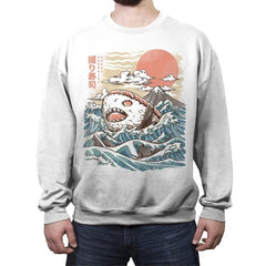 Sharkiri Sushi - Crew Neck Sweatshirt - Crew Neck Sweatshirt - RIPT Apparel