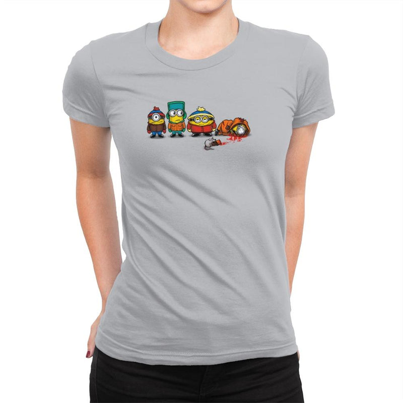 Minion Park Exclusive - Womens Premium - T-Shirts - RIPT Apparel
