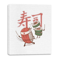 Sushi Warrior - Canvas Wraps - Canvas Wraps - RIPT Apparel