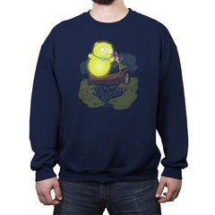 Louise & Kuchi Kopi - Crew Neck Sweatshirt - Crew Neck Sweatshirt - RIPT Apparel
