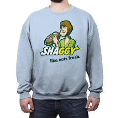 Shaggyway - Crew Neck Sweatshirt - Crew Neck Sweatshirt - RIPT Apparel