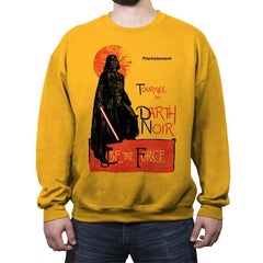 Darth Noir - Crew Neck Sweatshirt - Crew Neck Sweatshirt - RIPT Apparel