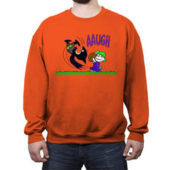Batbrown - Anytime - Crew Neck Sweatshirt - Crew Neck Sweatshirt - RIPT Apparel