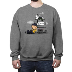 Video Store Nuts - Crew Neck Sweatshirt - Crew Neck Sweatshirt - RIPT Apparel