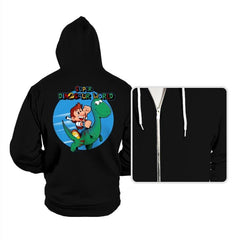 Super Dinosaur World - Hoodies - Hoodies - RIPT Apparel