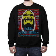 Merry Christ-Myah-s! - Ugly Holiday - Crew Neck Sweatshirt - Crew Neck Sweatshirt - RIPT Apparel