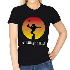 the All-might Kid - Womens - T-Shirts - RIPT Apparel