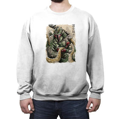 Samurai Hunter - Crew Neck Sweatshirt - Crew Neck Sweatshirt - RIPT Apparel