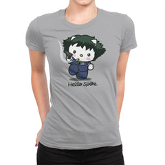 Hello Spike - Womens Premium - T-Shirts - RIPT Apparel