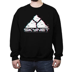 Skyglitch - Crew Neck Sweatshirt - Crew Neck Sweatshirt - RIPT Apparel