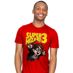 Super Wizard Bros. 3 - Mens - T-Shirts - RIPT Apparel