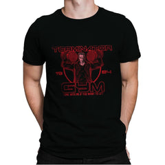 Terminator Gym - Mens Premium - T-Shirts - RIPT Apparel