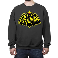 Demon or Human - Crew Neck Sweatshirt - Crew Neck Sweatshirt - RIPT Apparel