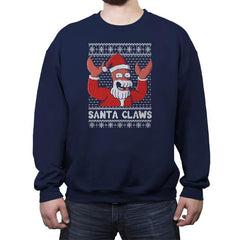 Zoiberg Santa Claws - Crew Neck Sweatshirt - Crew Neck Sweatshirt - RIPT Apparel