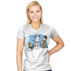 The Snow Dalek - Womens - T-Shirts - RIPT Apparel