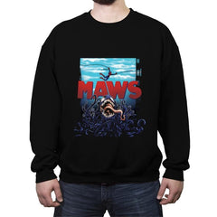 Maws - Crew Neck Sweatshirt - Crew Neck Sweatshirt - RIPT Apparel