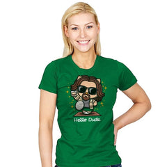 Hello Dude - Womens - T-Shirts - RIPT Apparel