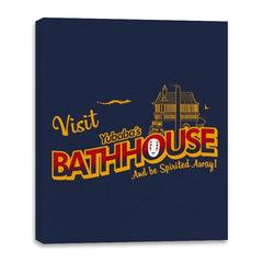 Visit the Bathhouse - Canvas Wraps - Canvas Wraps - RIPT Apparel