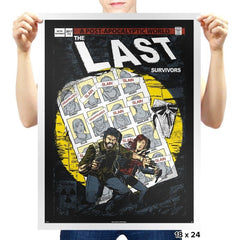 The Last Survivors - Prints - Posters - RIPT Apparel