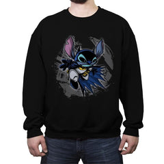 Bat-Stitch - Crew Neck Sweatshirt - Crew Neck Sweatshirt - RIPT Apparel