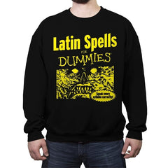 Latin Spells for Dummies - Crew Neck Sweatshirt - Crew Neck Sweatshirt - RIPT Apparel