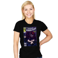 The Amazing Demon King - Womens - T-Shirts - RIPT Apparel