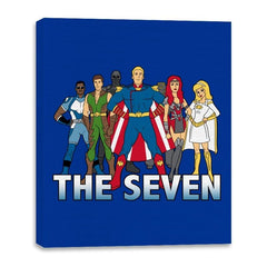 Cartoon Seven - Canvas Wraps - Canvas Wraps - RIPT Apparel