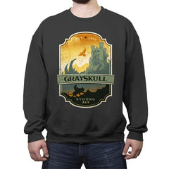 Grayskull Strong Ale - Crew Neck Sweatshirt - Crew Neck Sweatshirt - RIPT Apparel