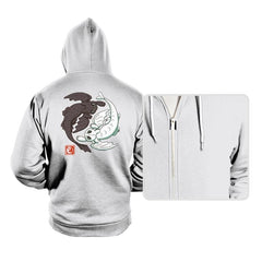 Yin Yang Dragons - Hoodies - Hoodies - RIPT Apparel