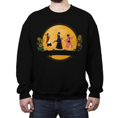 Himawari No Yoru - Crew Neck Sweatshirt - Crew Neck Sweatshirt - RIPT Apparel