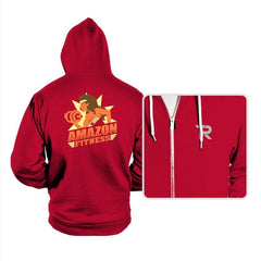 Amazon Fitness Reprint - Hoodies - Hoodies - RIPT Apparel
