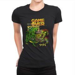 Game Over - Womens Premium - T-Shirts - RIPT Apparel
