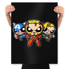 The Puffvengers - Prints - Posters - RIPT Apparel