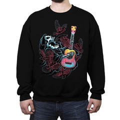 Sing For The Crows - Crew Neck Sweatshirt - Crew Neck Sweatshirt - RIPT Apparel