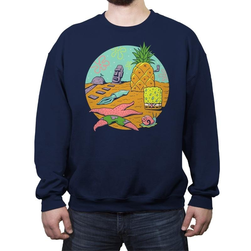 Nautical Nonsense - Crew Neck Sweatshirt - Crew Neck Sweatshirt - RIPT Apparel