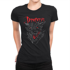 Count Dracarys - Womens Premium - T-Shirts - RIPT Apparel