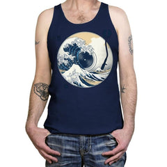 The Great Wave off Music - Tanktop - Tanktop - RIPT Apparel