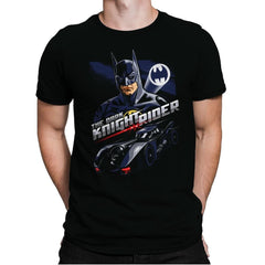 The Dark Knight Rider - Mens Premium - T-Shirts - RIPT Apparel