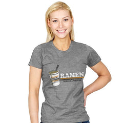 Ramen Budgest Approved Exclusive - Womens - T-Shirts - RIPT Apparel