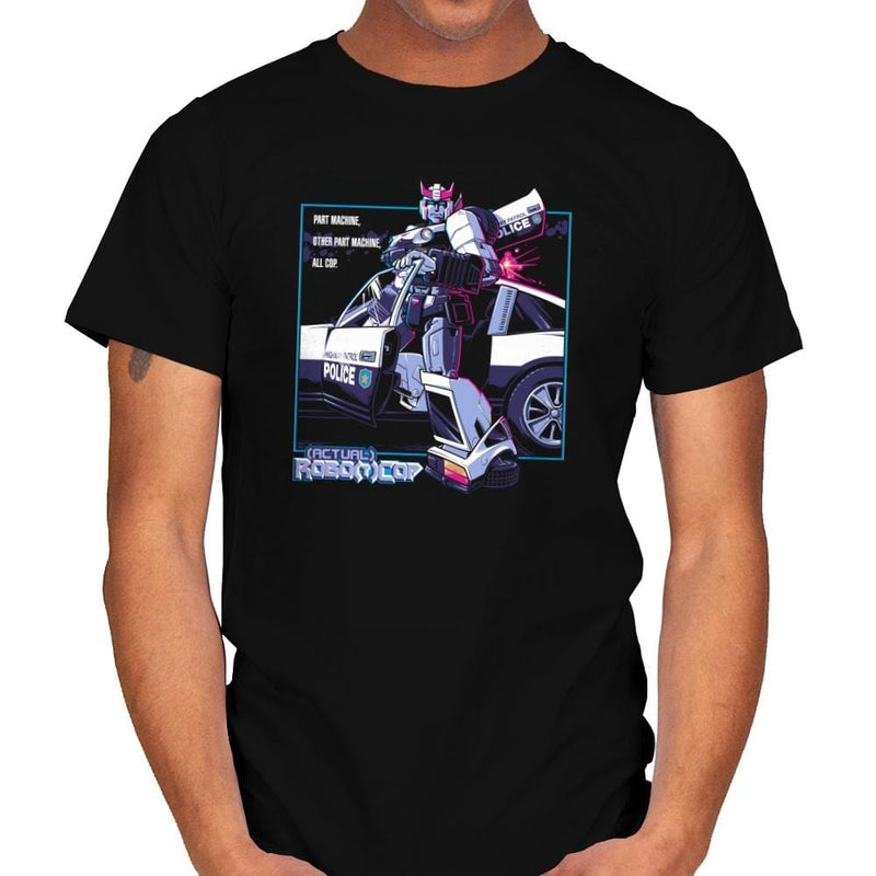 (Actual) Robo(t)Cop Exclusive - Mens - T-Shirts - RIPT Apparel