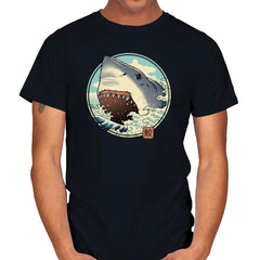 White Shark Attack! - Mens - T-Shirts - RIPT Apparel