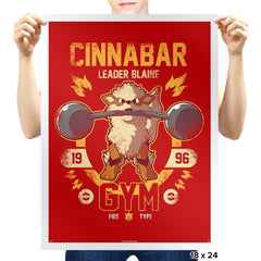 Cinnabar Gym - New Year's Evolutions - Prints - Posters - RIPT Apparel