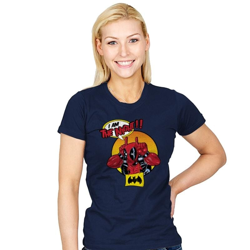 I'M THE NIGHT! - Best Seller - Womens - T-Shirts - RIPT Apparel