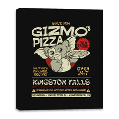 Gizmo's Pizza - Canvas Wraps - Canvas Wraps - RIPT Apparel
