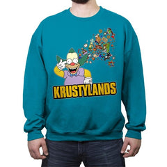 Krustylands - Crew Neck Sweatshirt - Crew Neck Sweatshirt - RIPT Apparel