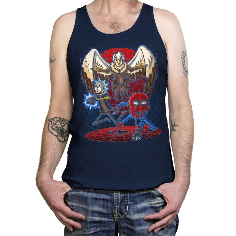 Spidermorty - Tanktop - Tanktop - RIPT Apparel
